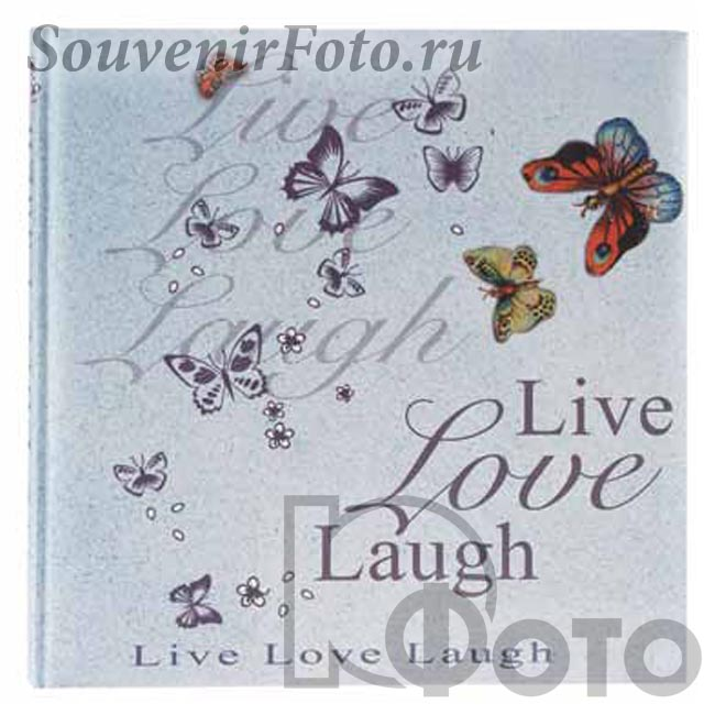 Фотоальбом GoldBuch, Мод. 27520. Live Love Laugh